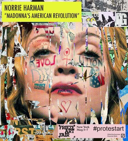 Madonna | Protest Art | Norrie Harman