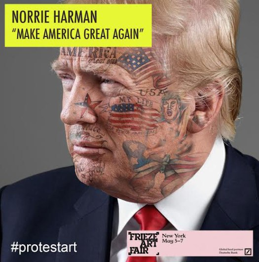 Protest Art | Norrie Harman | Blade Portraits