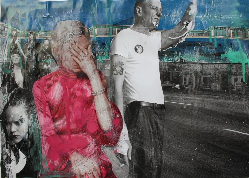 BOULEVARD DE BOUNDARY | COLLAGE | XEROX ART